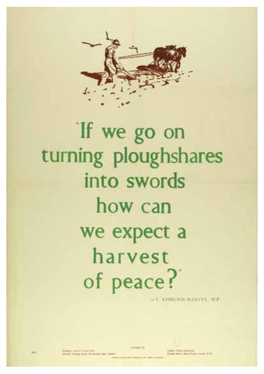 If we go on turning ploughshares into swords..